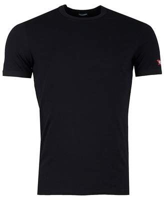 DSQUARED2 Arm Maple Leaf Crew Neck T-shirt
