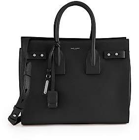 Saint Laurent Women's Small Sac De Jour Leather Satchel