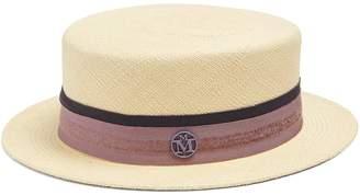 Maison Michel Auguste straw boater hat