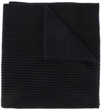 Tommy Hilfiger ribbed knit scarf