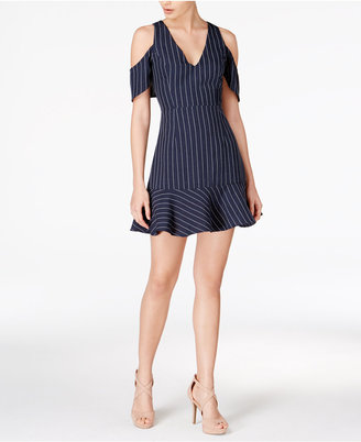 J.O.A. Cold-Shoulder Fit & Flare Dress $90 thestylecure.com