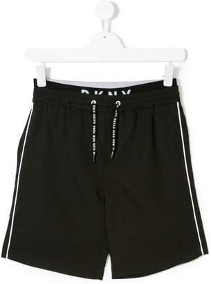 DKNY drawstring waist shorts