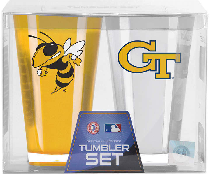Georgia Tech Yellow Jackets Insulated Tumbler - Set of Two