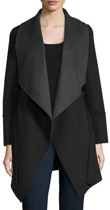 Neiman Marcus Cashmere Collection Belted Double-Face Cashmere Cardigan Coat $1,295 thestylecure.com