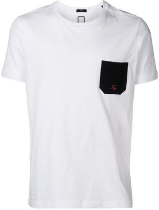 Fay contrast pocket T-shirt