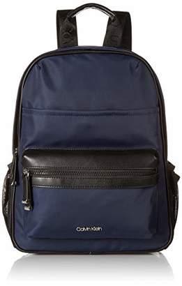 Calvin Klein Callen Nylon Organizational Front Pocket Backpack