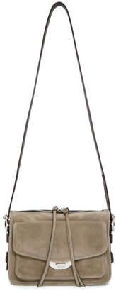 Rag & Bone Grey Small Field Messenger Bag