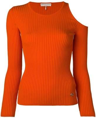 Emilio Pucci knit top with shoulder cut-outs