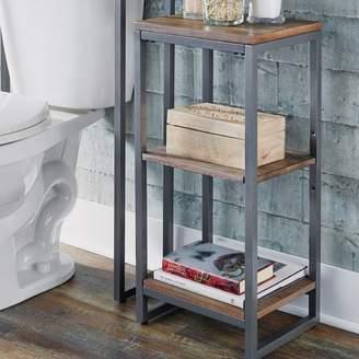 "17 Stories Eckles 13"" W x 28.25"" H Bathroom Shelf"