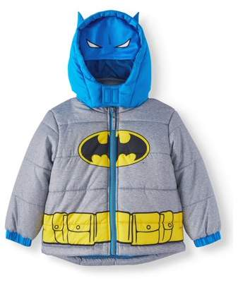 Batman Costume Puffer Jacket Coat (Toddler Boys)
