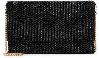 Minty Crystal-Embellished Evening Bag $180 thestylecure.com