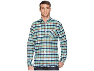 Psycho Bunny Long Sleeve Flannel Men's Clothing