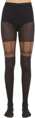 Chantal Thomass Collant Cuissarde Attachante Tights
