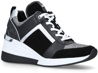 MICHAEL Michael Kors Leather Georgie Sneakers