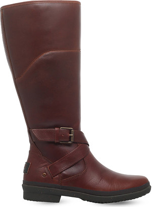 Ugg Evanna waterproof leather boots $210 thestylecure.com
