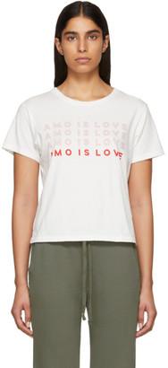 Amo White Is Love Classic T-Shirt