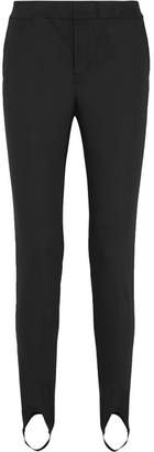 Helmut Lang Stretch-jersey Slim-leg Stirrup Pants - Black