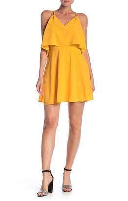 Ali & Jay Free Spirit V-Neck Mini Dress