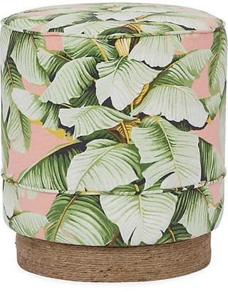 Kim Salmela Pepper Stool - Blush Palm