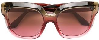 Emmanuelle Khanh oversized frame sunglasses
