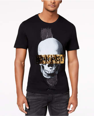 INC International Concepts I.n.c. Men's Reversible Sequin Graphic T-Shirt, Created for Macy's