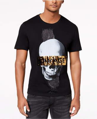 INC International Concepts I.n.c. Men's Reversible Sequin Graphic T-Shirt