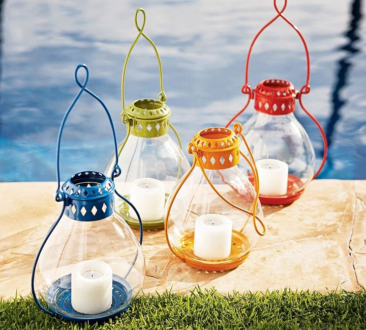 Napa Colored Lanterns
