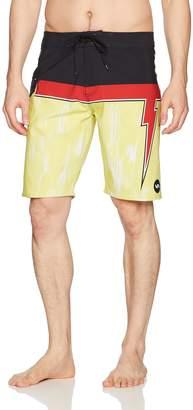 RVCA Young Men's Makua Bolt Trunk Shorts