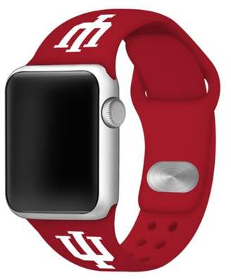 Affinity Bands Indiana Hoosiers 38mm Silicone Sport Band fits Apple Watch - BAND ONLY