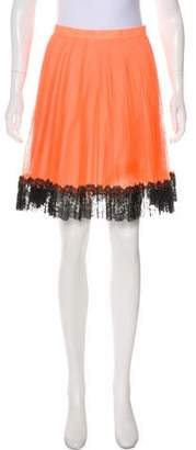 Christopher Kane Knee-Length Tulle Skirt