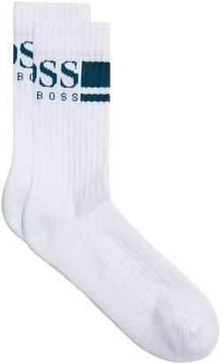 BOSS GREEN Logo Print Socks