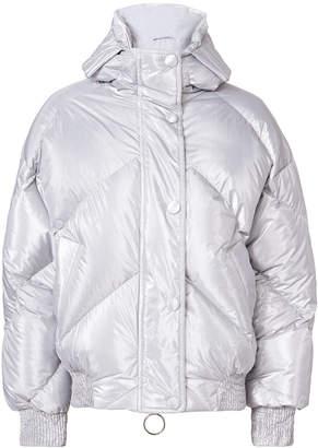 Dunlop Ienki Ienki Silver Bomber Jacket