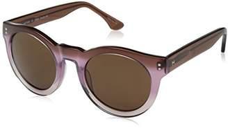 Halston H Women's Hh 628 Fashion Round Sunglasses