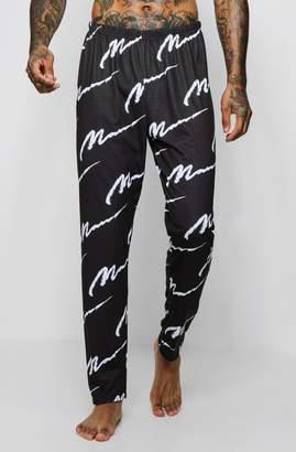 boohoo All Over MAN Design Lounge Pants
