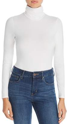 Little Black Bodysuit Phoebe Mock-Neck Bodysuit