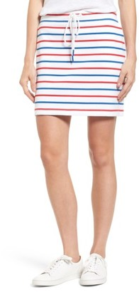 Women's Vineyard Vines Stripe Knit Drawstring Skirt $74 thestylecure.com