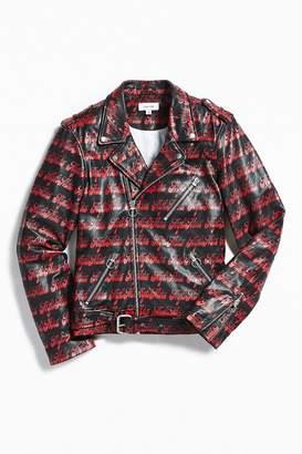 Soulland Rhinbeck Leather Biker Jacket