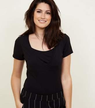 New Look Maternity Black Nursing T-Shirt