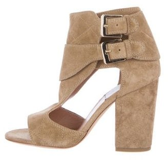 Laurence Dacade Quilted Deric Sandals $195 thestylecure.com