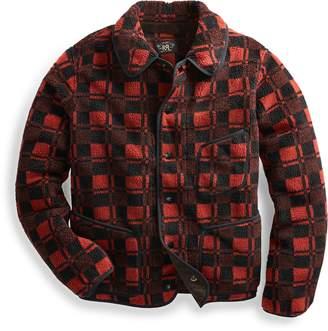 Ralph Lauren Plaid Jacquard Fleece Jacket