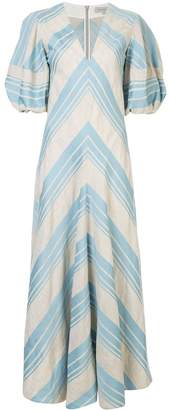 Lee Mathews Tilda puff sleeve dress