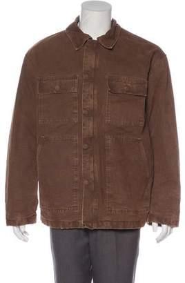 Yeezy Washed Denim Carpenter Coat w/ Tags