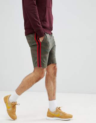 Jack and Jones Originals taped sweat shorts
