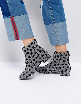 Asos Artistic Ankle Boots