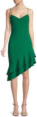 LIKELY Vivianne Ruffle High-Low Sheath Dress