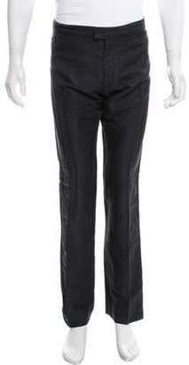 Alexander McQueen Striped Tuxedo Pants navy Striped Tuxedo Pants
