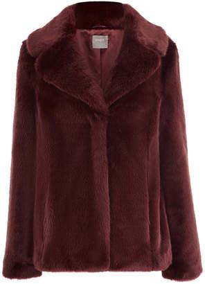 Oasis Short Faux Fur Coat
