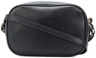 Versus logo zipped shoulder bag