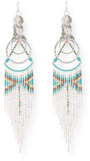 Devon Leigh Southwestern Tassel Earrings