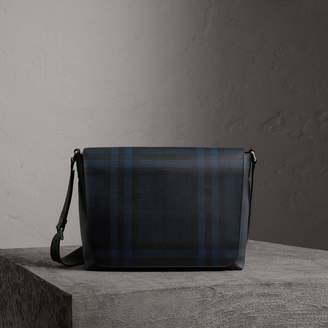 Burberry Large London Check Messenger Bag